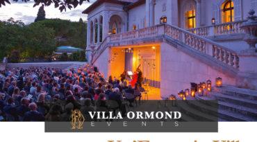 Un'Estate in Villa 2018 – Calendario Eventi