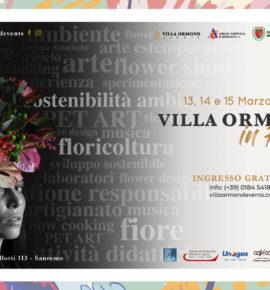 Villa Ormond in Fiore 2020