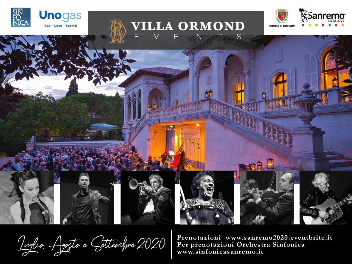 Un'Estate in Villa 2020 – Calendario eventi
